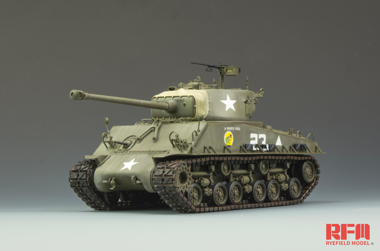 RM-5028 M4A3E8 SHERMAN
