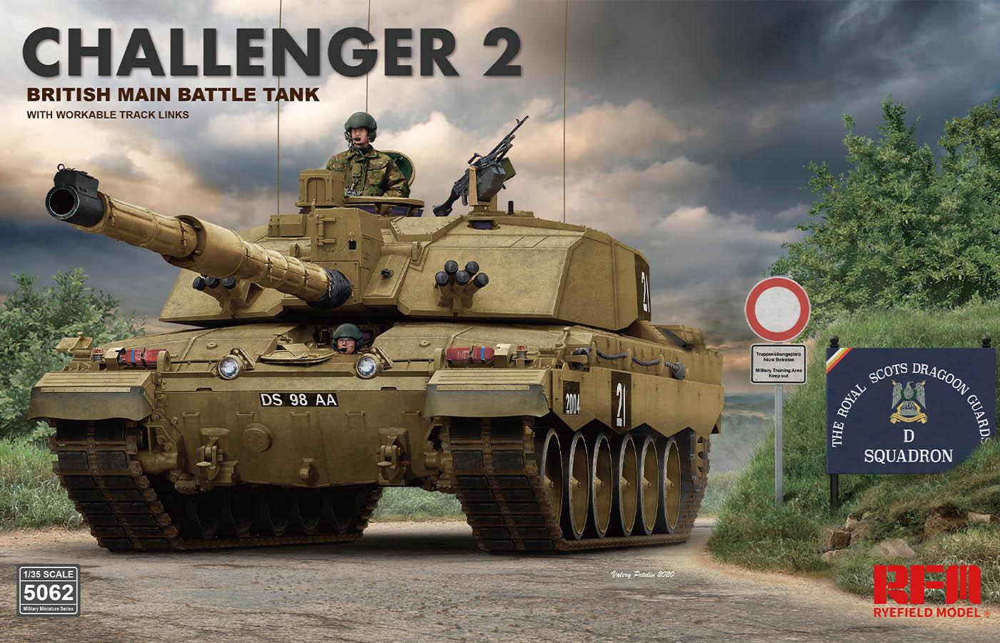 """RM-5062  英国""""挑战者2""""主战坦克"""