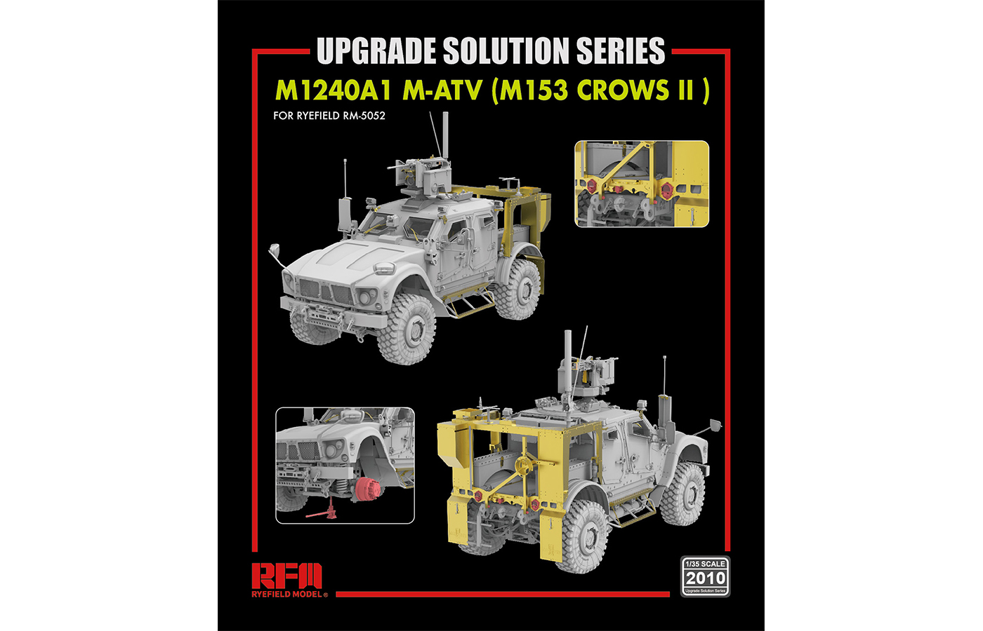RM-2010 M-ATV M1240A1乌鸦武器站型升级改造件
